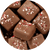 Milk Chocolate Holiday Mint Squares
