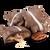 No Sugar Added Milk Chocolate Pecan Caramel Patties