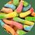 Sour Mini Neon Gummi Worms
