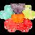 Mini Gummi Butterflies - 5 lb Bulk Package
