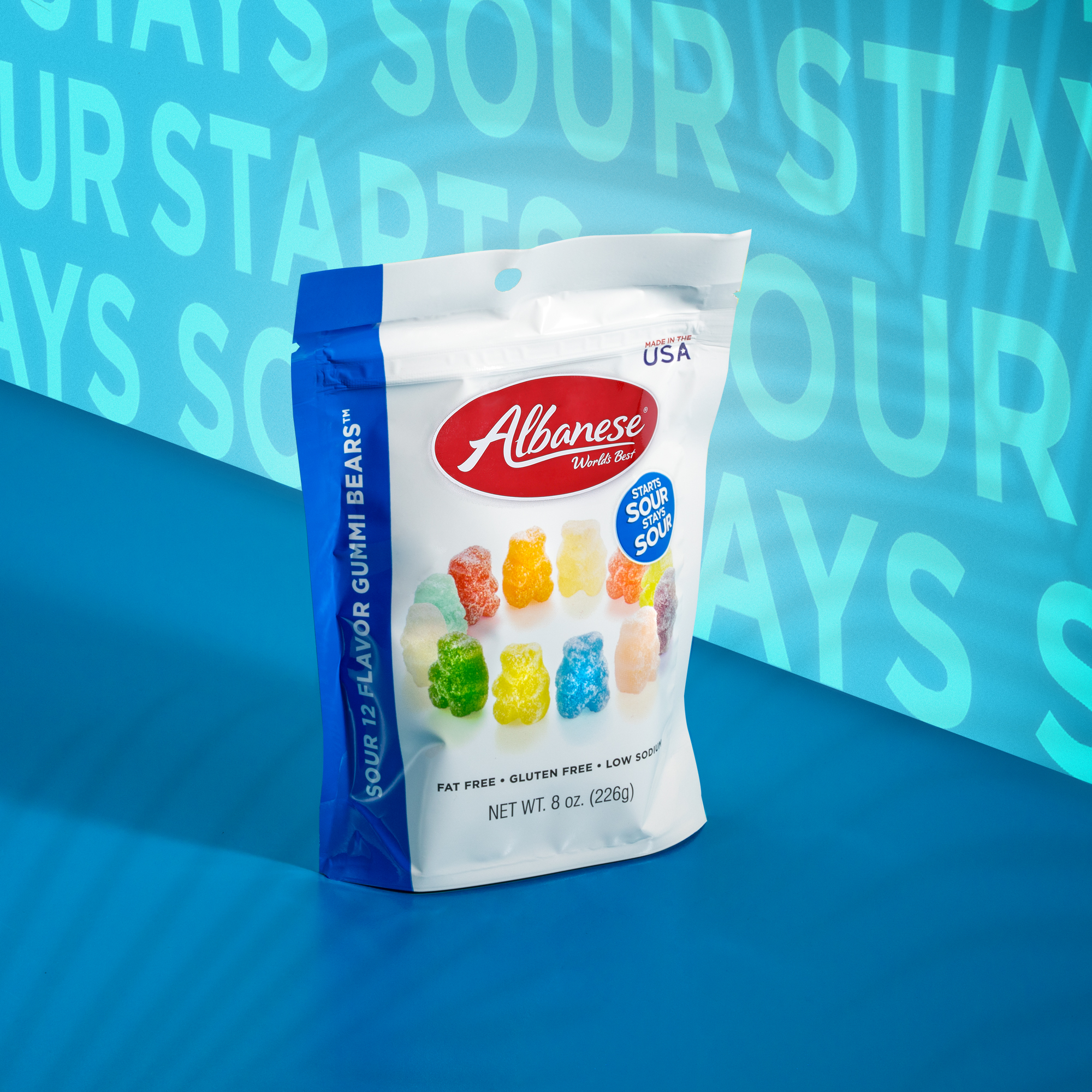 Sour 12 Flavor Gummi Bears®