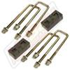 "Part Number MP-G6591 - 1.5"" Rear Block & U-Bolt Kit"