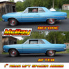 """MP1602- 1"""" Rear Coil Spring Spacer Lift Kit Installed on a Chevelle"""
