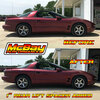 """MP1627 - 1"""" Rear Coil Spring Spacer Lift Installed on a Firebird"""