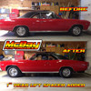 """MP1627 - 1"""" Rear Coil Spring Spacer Lift Installed on a Chevelle"""