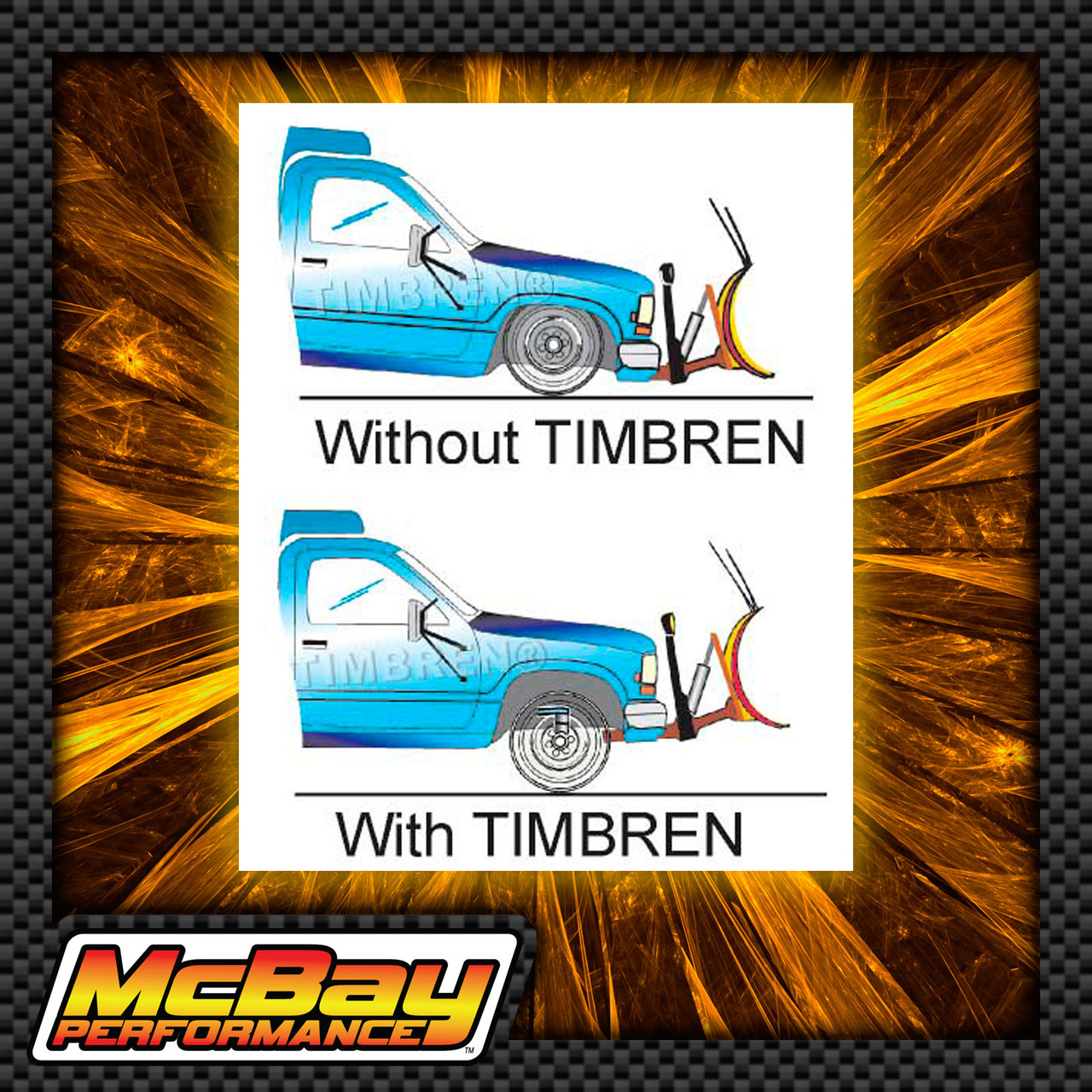 Timbren Front SES Suspension Load Leveling Kit for 1975-2019 Toyota Pickups & SUV's