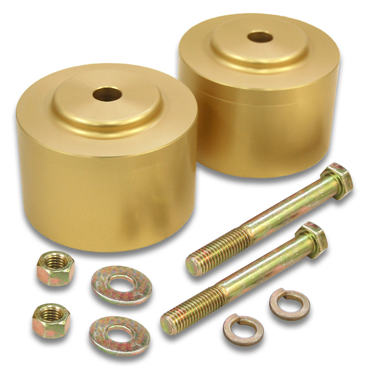 """MP1606- 2.5"""" Rear Coil Spring Spacer Lift Kit for 1960'S GM RWD Passenger Cars 