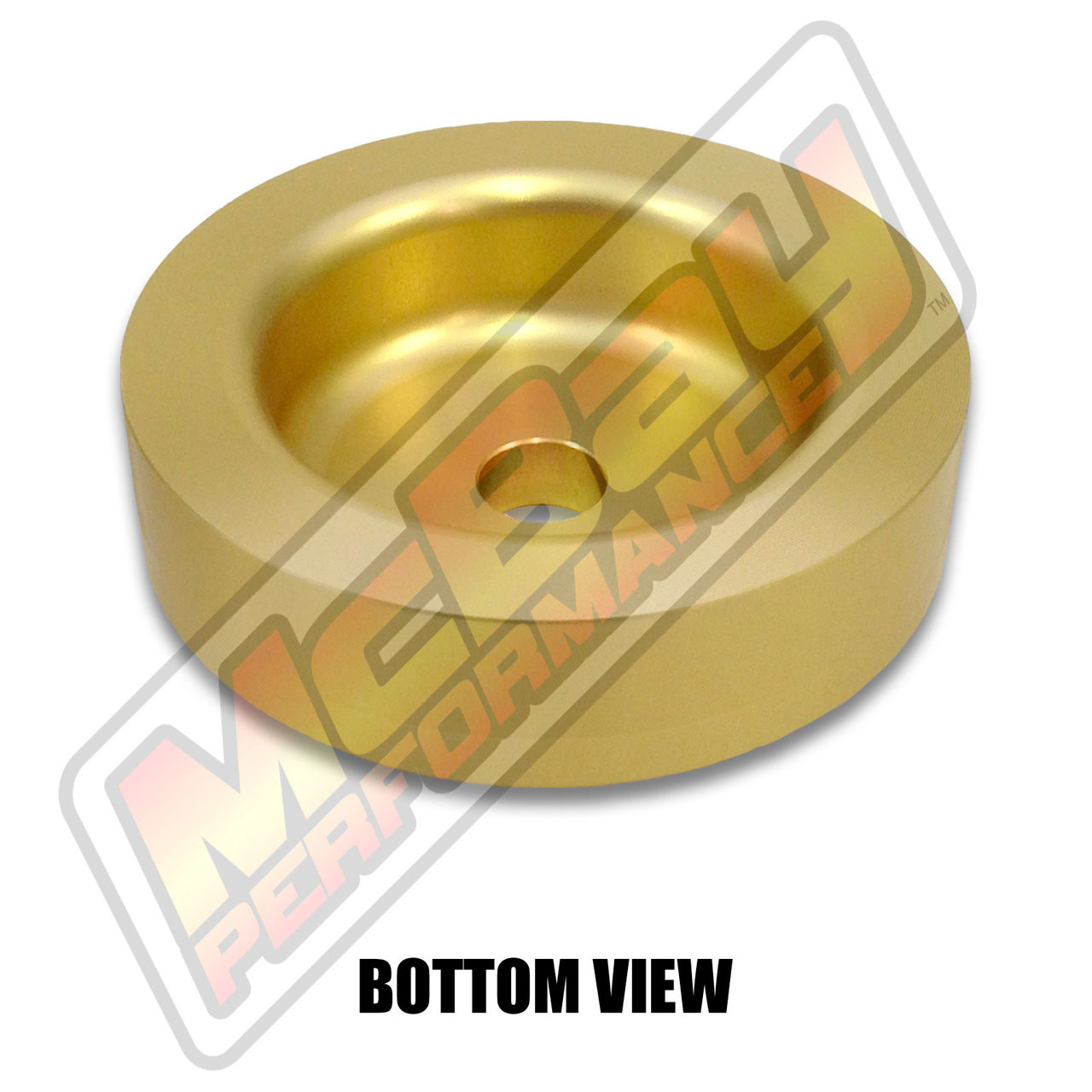 """MP1602- 1"""" Rear Coil Spring Spacer - Bottom View"""