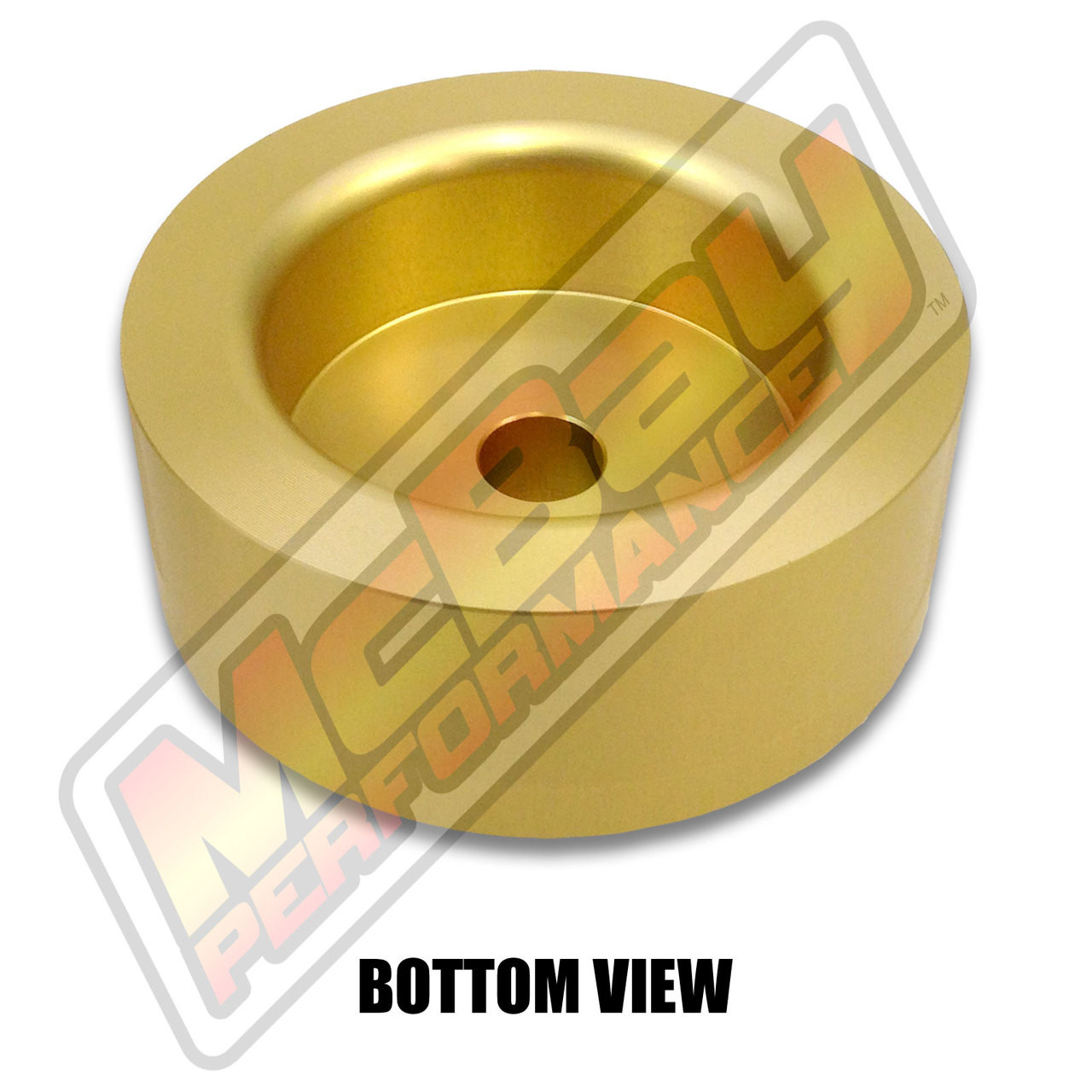"""MP1603- 1.5"""" Rear Coil Spring Spacer - Bottom View"""