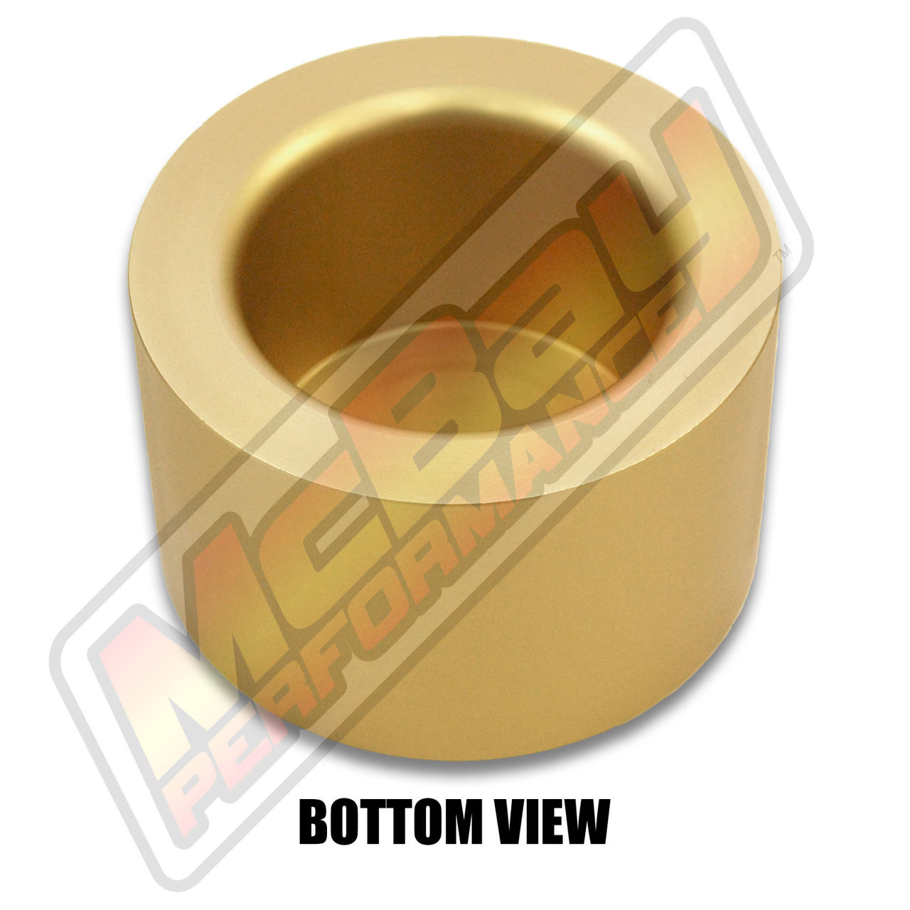 """MP1606- 2.5"""" Rear Coil Spring Spacer - Bottom View"""