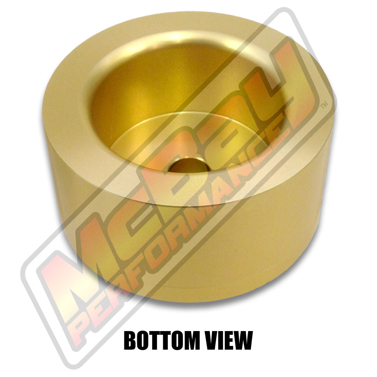 """MP1604- 2"""" Rear Coil Spring Spacer - Bottom View"""