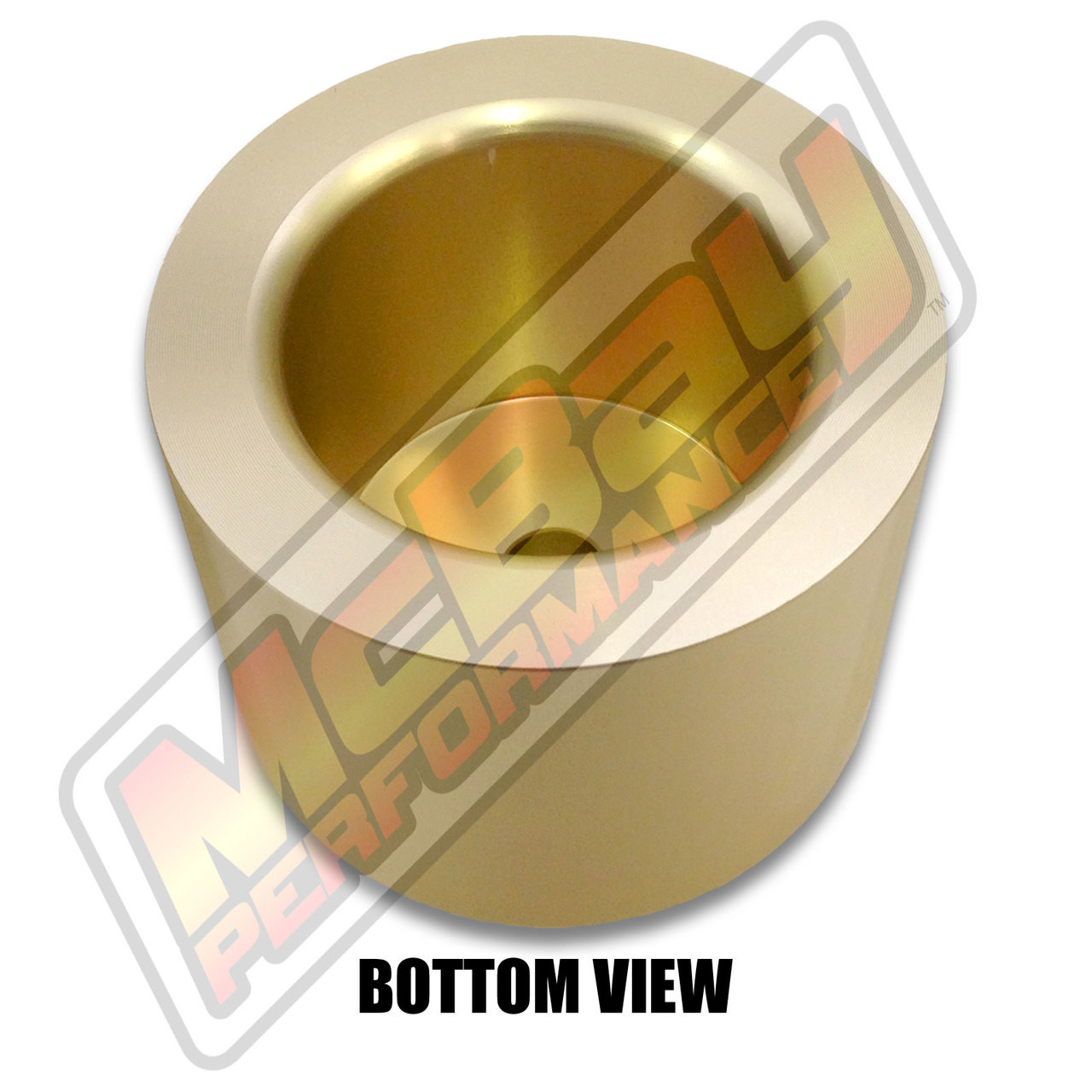 """MP1605- 3"""" Rear Coil Spring Spacer - Bottom View"""