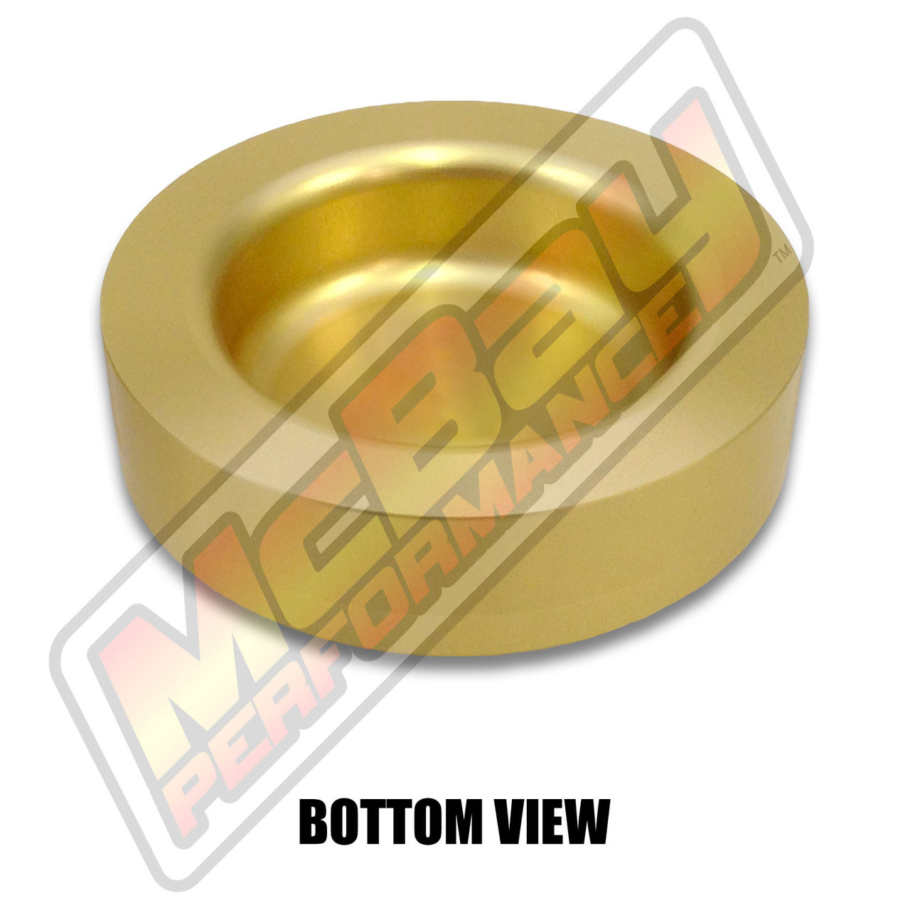 """MP1627 - 1"""" Lift Rear Coil Spring Spacer - Bottom View"""