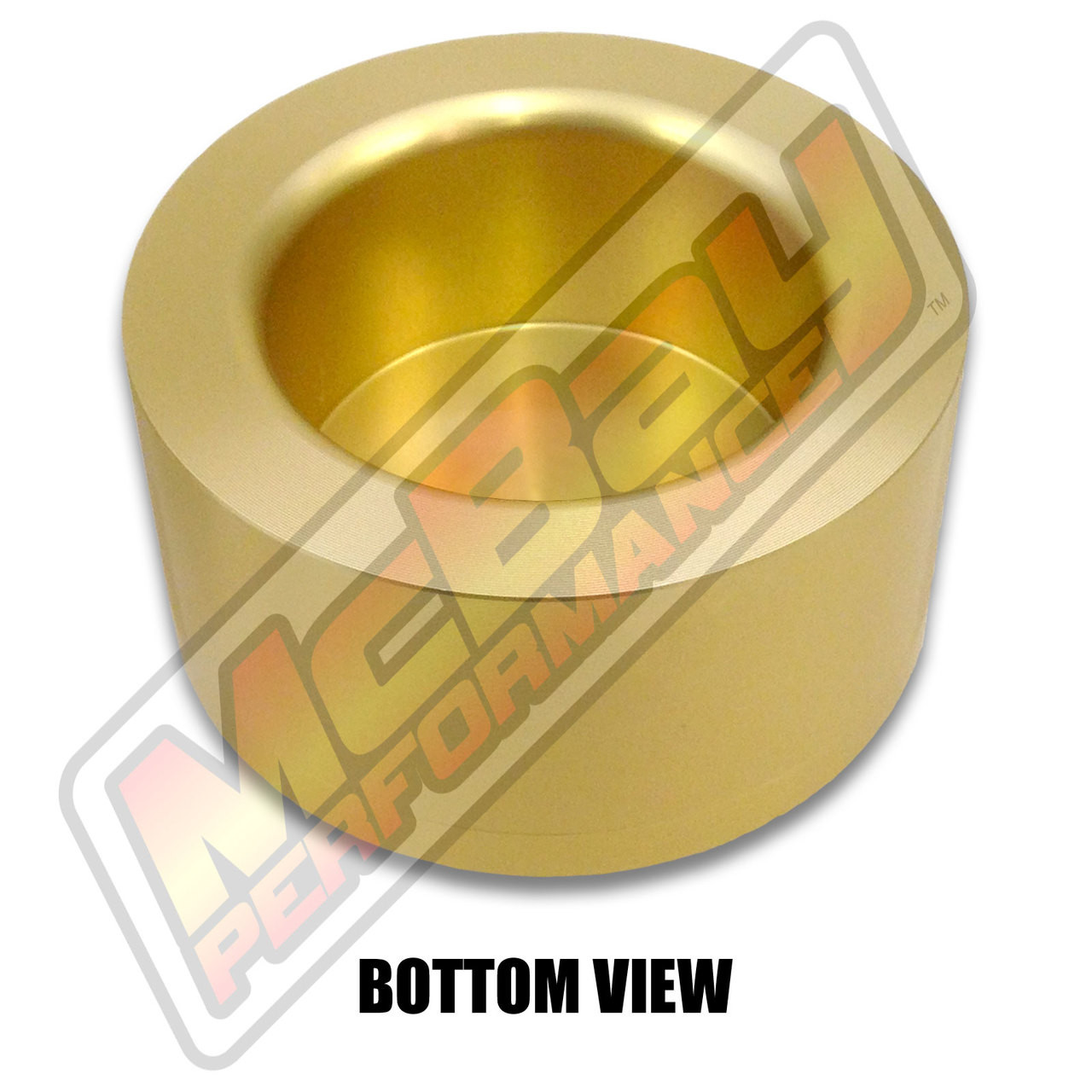"""MP1629 - 2"""" Lift Rear Coil Spring Spacer - Bottom View"""