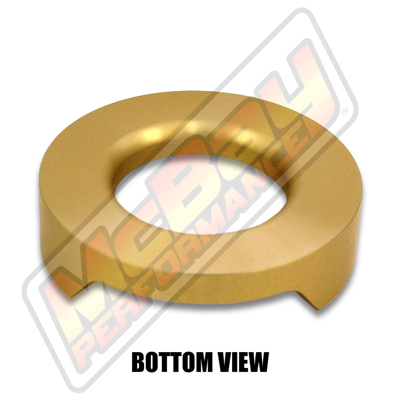 """MP1626 - 1/2"""" Lift Rear Coil Spring Spacer - Bottom View"""