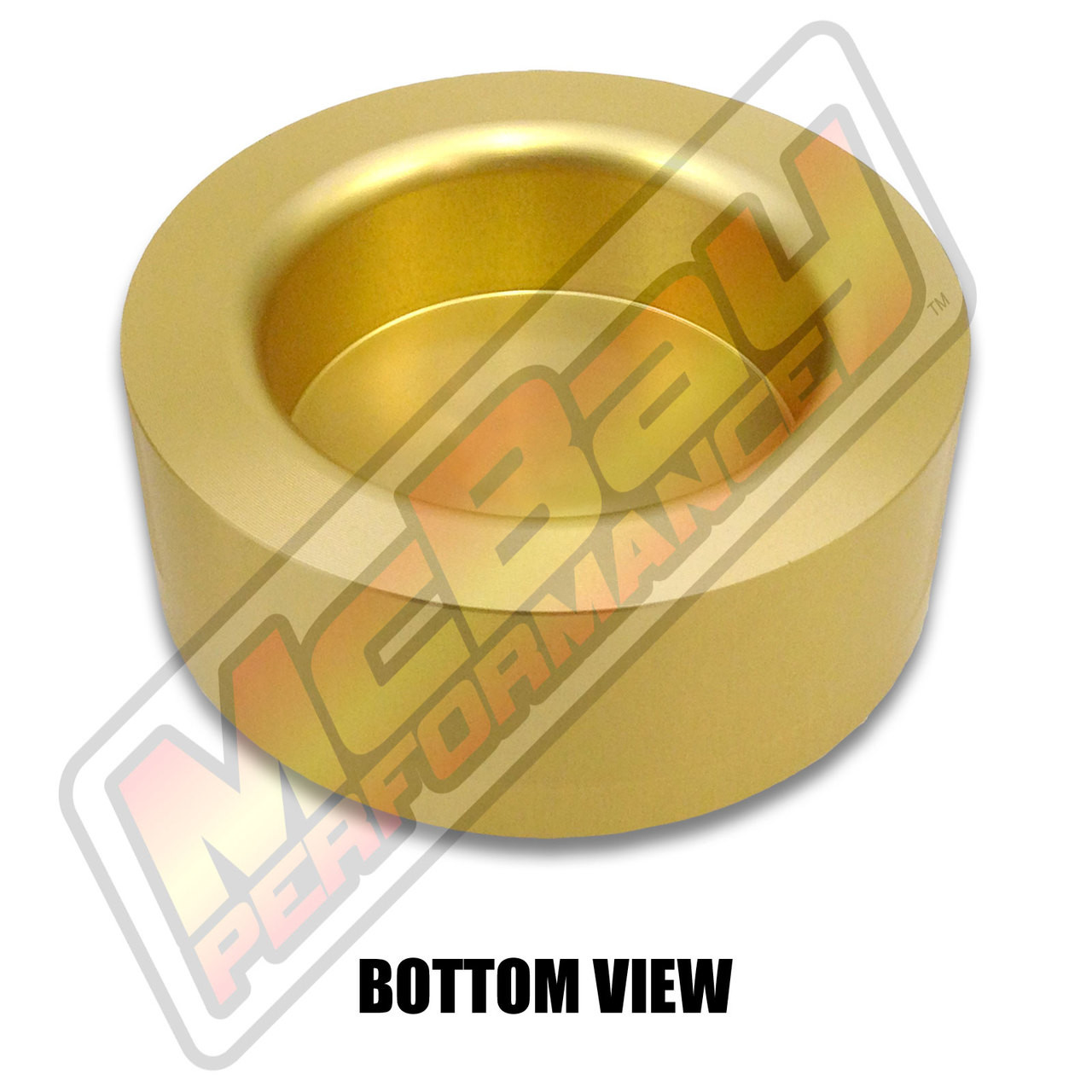 """MP1628 - 1.5"""" Lift Rear Coil Spring Spacer - Bottom View"""