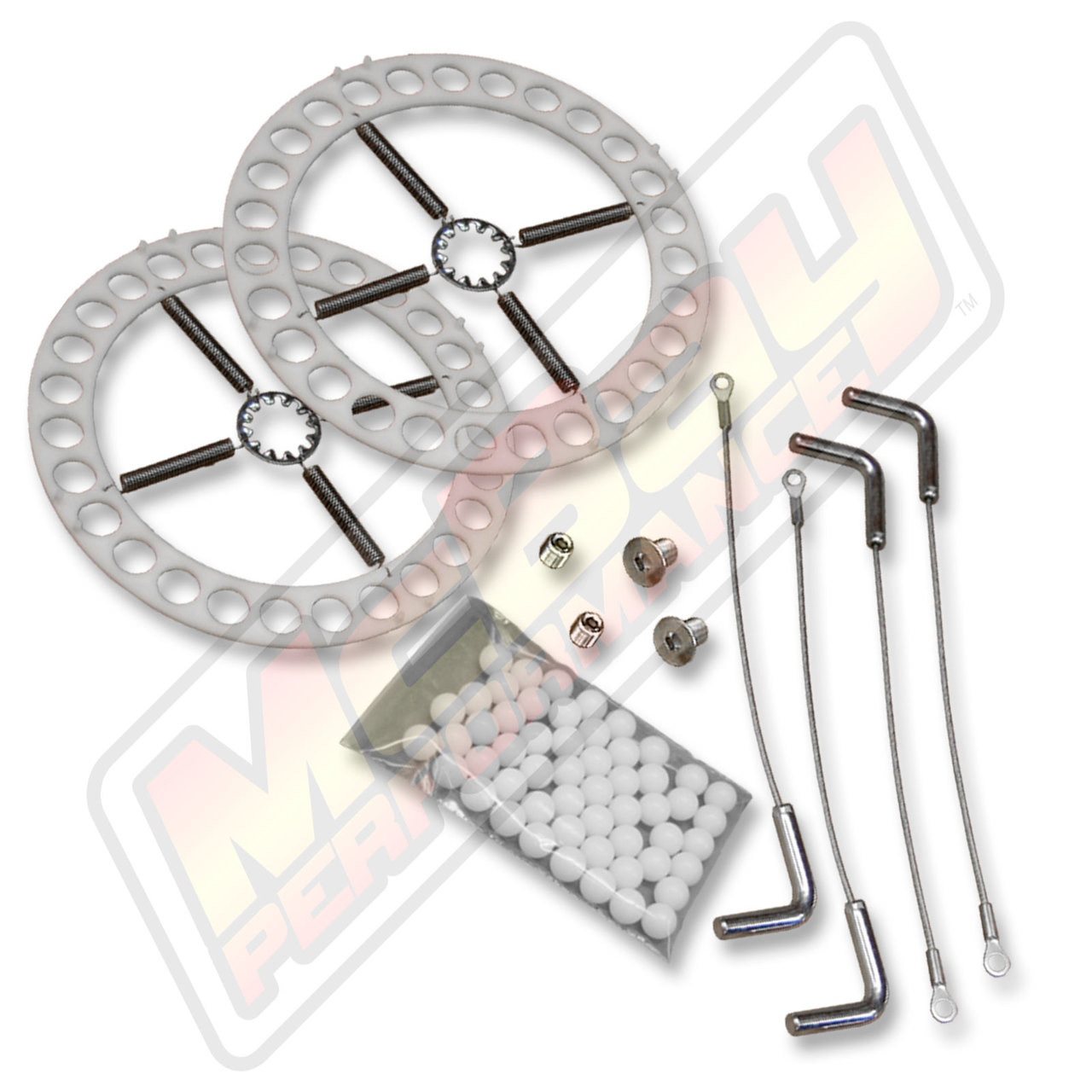 41-11 - Alignment Turn Plate Table Repair Kit with Stainless Steel Hardware & Lockpins   McBay Performance