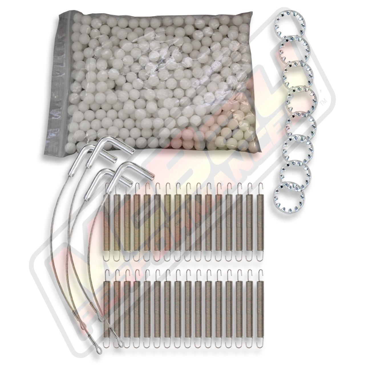 Hunter D /& RL Alignment Rack Rear Slip Plate Repair Kit with Retainer Rings