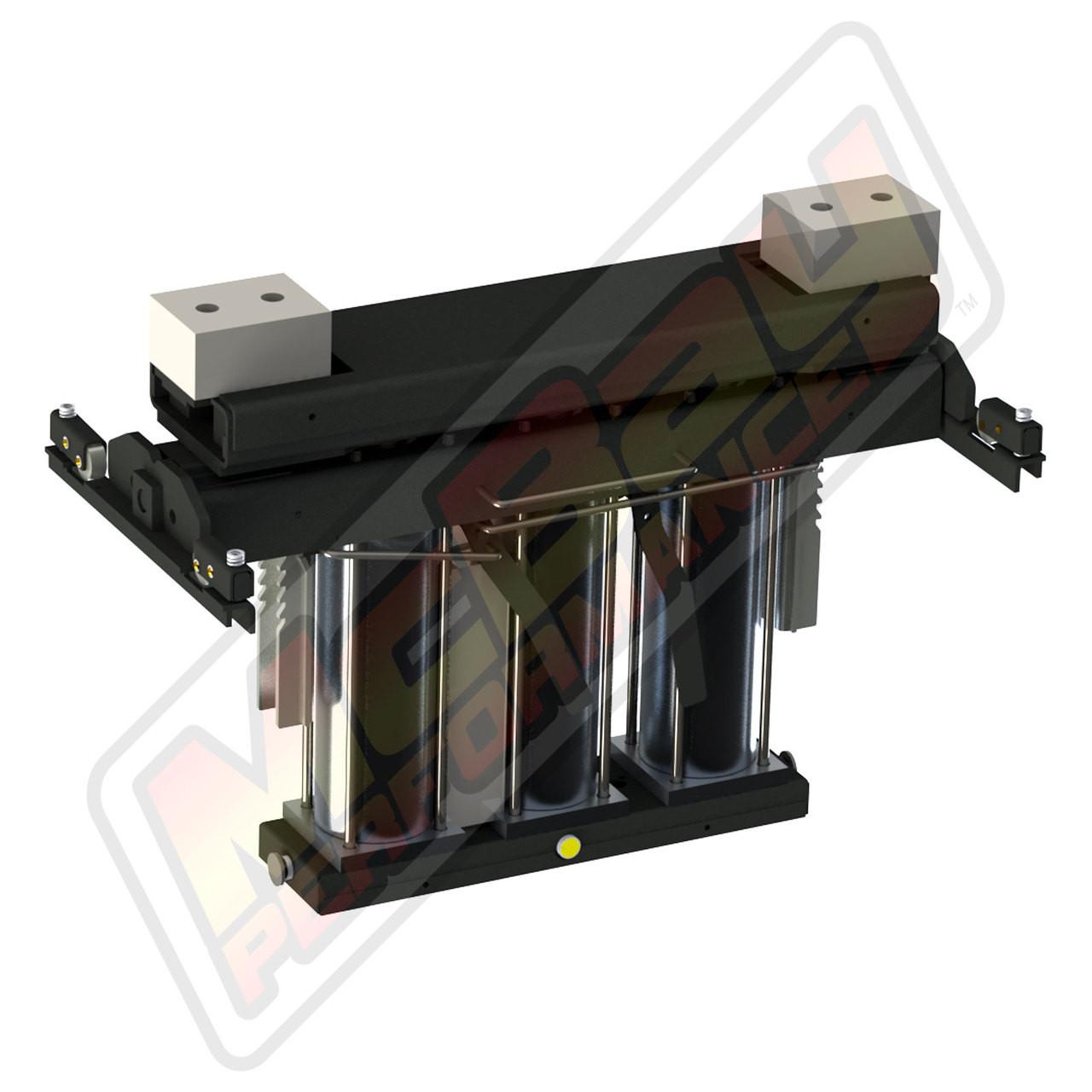 RJ-6000, RJ-7000, RJ-8000 - 6000 lb, 7000 lb, or 8000 lb Pneumatic Pivoting Rolling Bridge Jack for Post or Scissor Lifts Alternate View