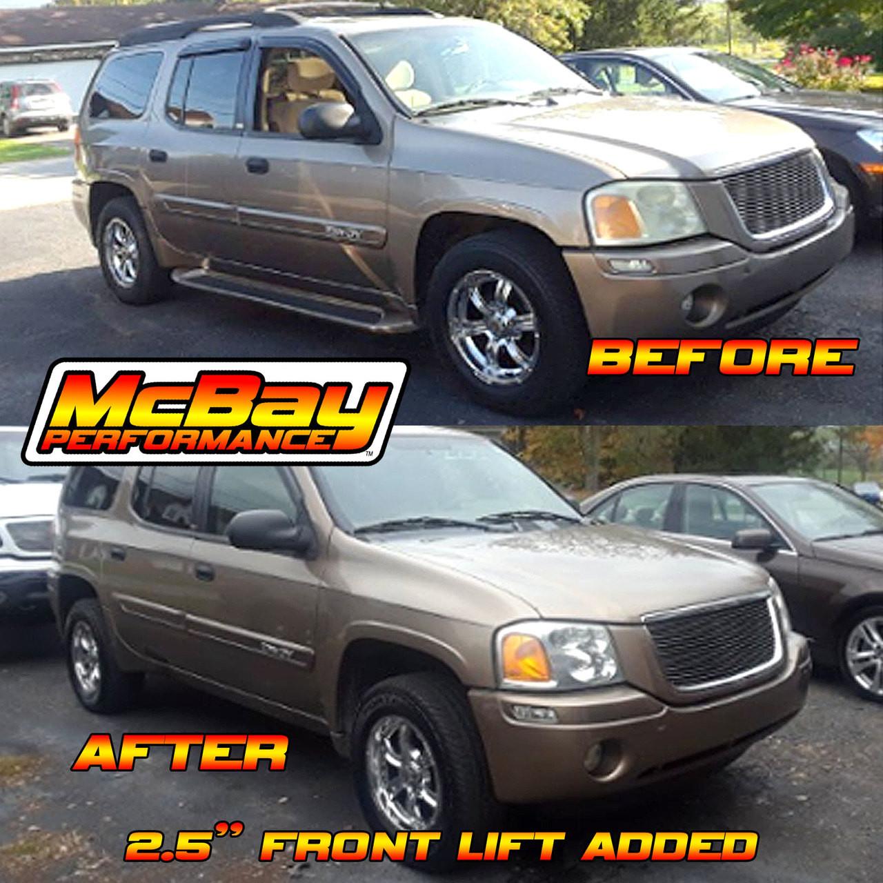 2002 2009 Chevrolet Trailblazer Gmc Envoy Front Leveling Lift Kit