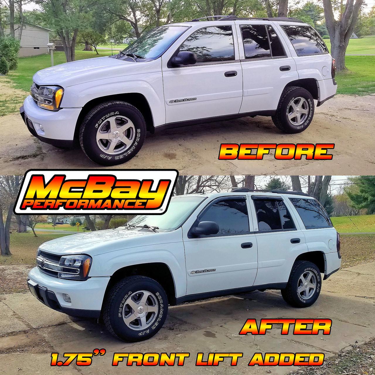 2002 2009 Chevrolet Trailblazer Gmc Envoy 1 75 Or 2 5 Front Lift Leveling Kit