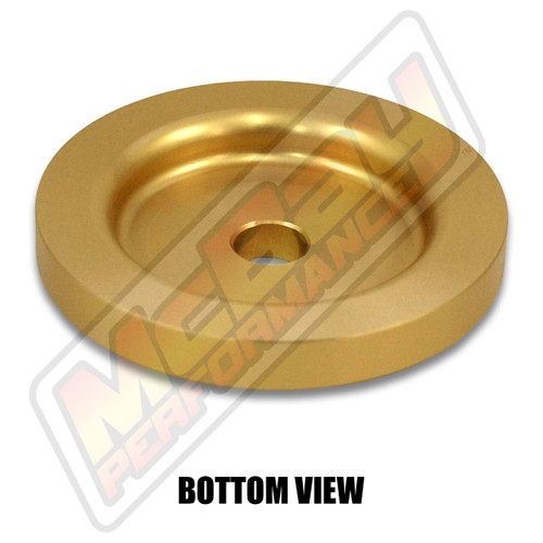 """MP1601- 1/2"""" Rear Coil Spring Spacer - Bottom View"""