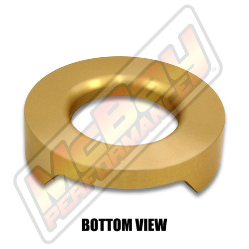 "MP1626 - 1/2"" Lift Rear Coil Spring Spacer - Bottom View"