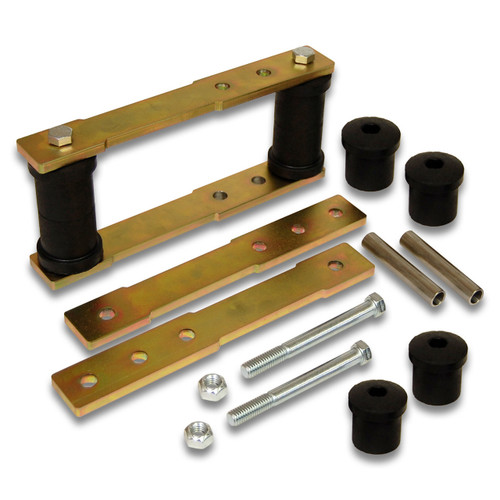 "SK-5002 - 1"" to 4"" Rear Shackle Lift Kit for 1976-1981 Chevorlet Camaro / Pontiac Firebird GM F-Body 