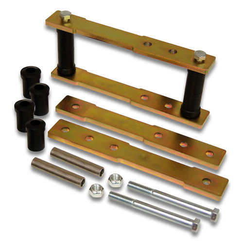 "Part Number SK-5003 - 1"" to 4"" Rear Shackle Lift Kit for 1960's thru 1970's Mopar B-Body, C-Body, & M-Body 