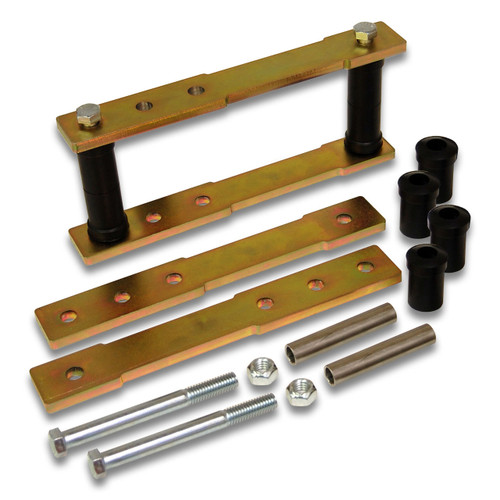 "SK-5006 - 1"" to 4"" Rear Shackle Lift Kit for 1970-1974 Barracuda / Challenger Mopar E-Body 