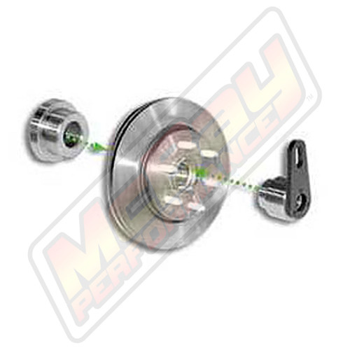 "5532 - Ford F150 2WD Rotor Brake Lathe Adapter Set for 1"" Arbor - Expanded View  