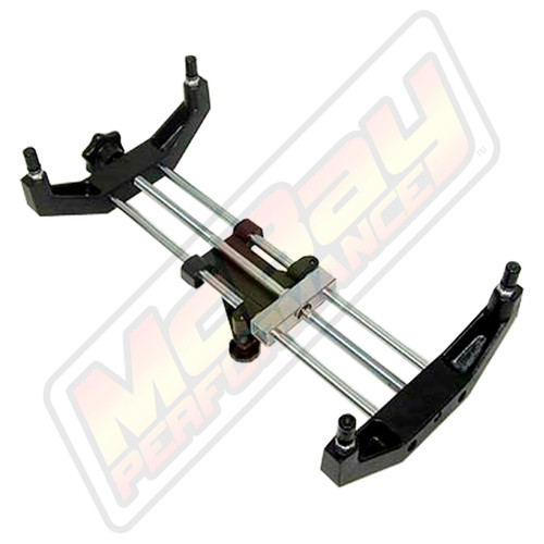 "8169 - Passenger Car Universal 10"" to 19"" Alignment Wheel Clamp Adapter - Bottom View"