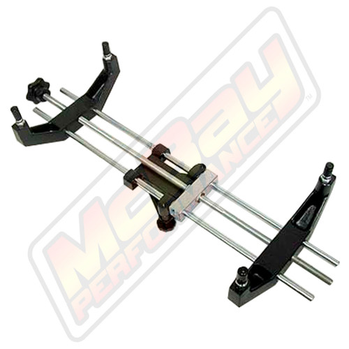 "8170 - Truck Large Rim Universal Alignment 16"" to 26"" Wheel Clamp Adapter - Bottom View"