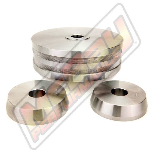 "10012 - 3 Piece Light Truck Hubless Rotor Cone Adapter Set for 1"" Arbor Brake Lathes 