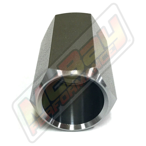 "7102 - Ammco Brake Lathe 1"" Arbor Replacement Nut Bottom View 