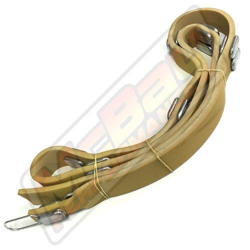 91598 - Heavy Duty Truck Ventilated Vented Rotor Weighted Silencer Belt   McBay Performance