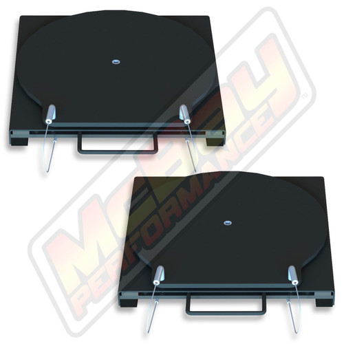 25-150 - Bendpak Alignment Rack Round Top Steel Economy Alignment Turnplate Turntable Set | McBay Performance