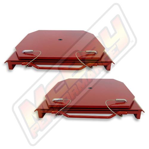 25-24 - Heavy Duty Truck Standard Steel Alignment Turn Table Set | McBay Performance