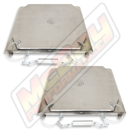 25-24-S - Heavy Duty Truck Stainless Steel Alignment Turn Table Set | McBay Performance