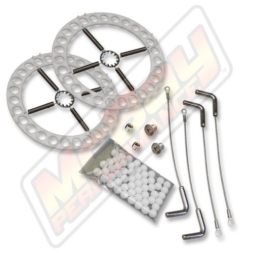 41-11 - Alignment Turn Plate Table Repair Kit with Stainless Steel Hardware & Lockpins | McBay Performance