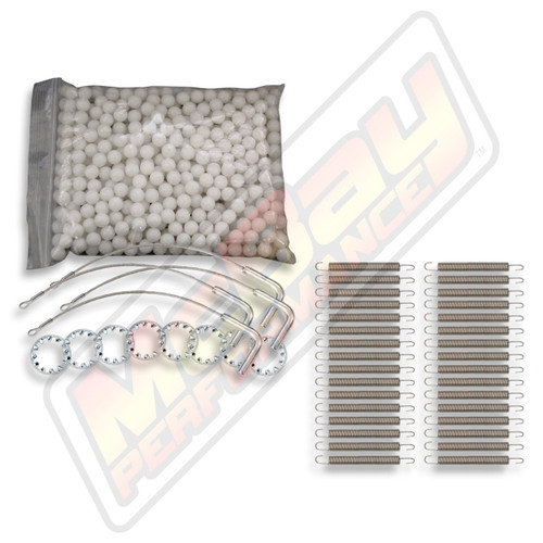 Hunter L421 / L424 / RX12 / RM12 Alignment Rack Rear Slip Plate Repair Kit without Rings
