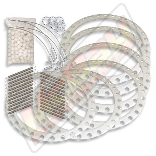 42-75-S - Hunter D & RL Alignment Rack Rear Slip-Plate Repair Kit with Lock Pins & Retainer Rings | McBay Performance