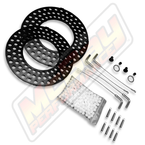 41-11-HD, CH-11-HD - Heavy Duty Truck Alignment Turn Plate Table Repair Kit with Lock Pins | McBay Performance