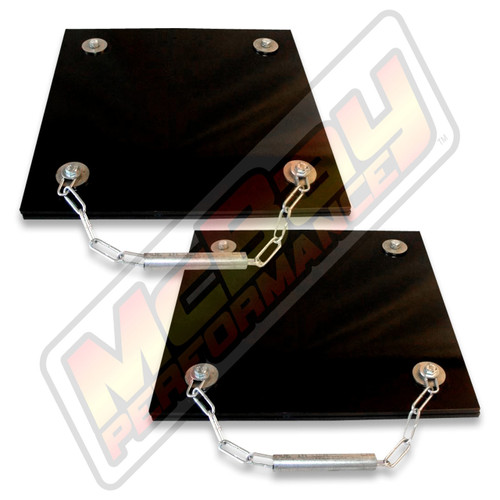 DB-3030 - Heavy Duty Large Truck Rear Grease Slip Plate Set | McBay Performance