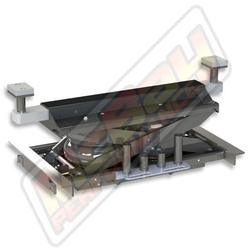 JW-9000 - 9,000 lb. Capacity Hunter John Bean FMC Rotary BendPak Alignment Rack Rolling Bridge Lift Jack | McBay Performance