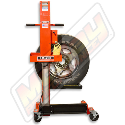 LM-200 - Lift-Mate Air-Operated, 200 lb Capacity, Mobile Tire & Wheel Lift Machine | McBay Performance