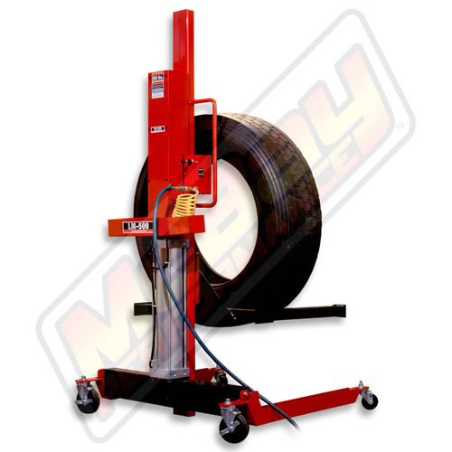 LM-500 - Lift-Mate Air-Operated, 500 lb Capacity, Mobile Tire & Wheel Lift Machine | McBay Performance