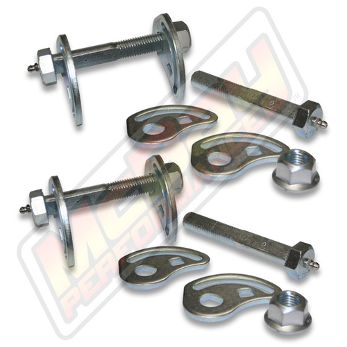 41-8262 - 1999 & Newer Silverado, Sierra, Tahoe, Suburban Front Camber Caster Cam Bolt Greaseable Alignment Kit | McBay Performance