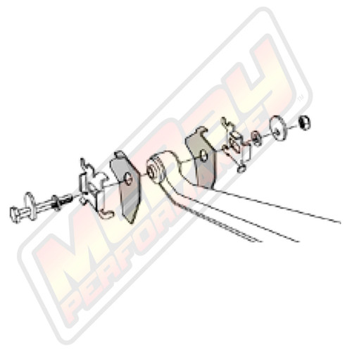 2002-2005 Dodge Ram 1500 4x4 & 2WD Front Alignment Cam Bolt Kit