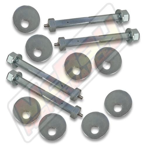 44-834 - 2005-2011 Dodge Dakota Adjustable Front Greaseable Camber Caster Cam Bolt Kit | McBay Performance